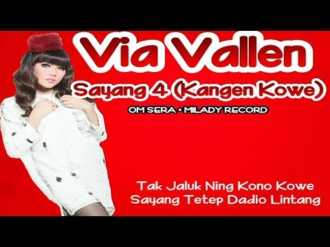Via Vallen - Sayang 4 (Official Lyric Video)