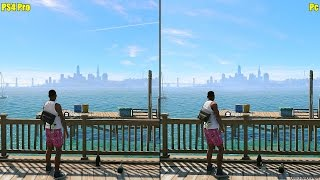 Watch Dogs 2 Pc Ultra Vs PS4 Pro 1080p Graphics Comparison