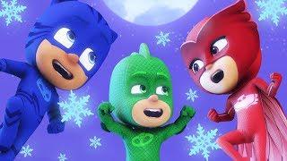 Герои в масках Гекко спасает Рождество Герои в масках Рождественский мультики для детей