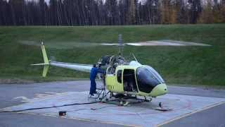 Bell 505 Jet Ranger X Ground Run