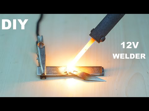 How to make mini Welding Machine with 12V battery