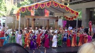 Kids dancing with indian music in Sydney
