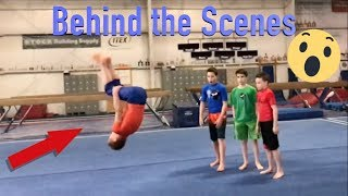 behind the scenes of Ninja Kidz tv| Karate VS Gymnastics