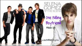 One Falling Boyfriend - Justin Bieber, Big Time Rush, & Selena Gomez ( TheJaneDone MASHUP )