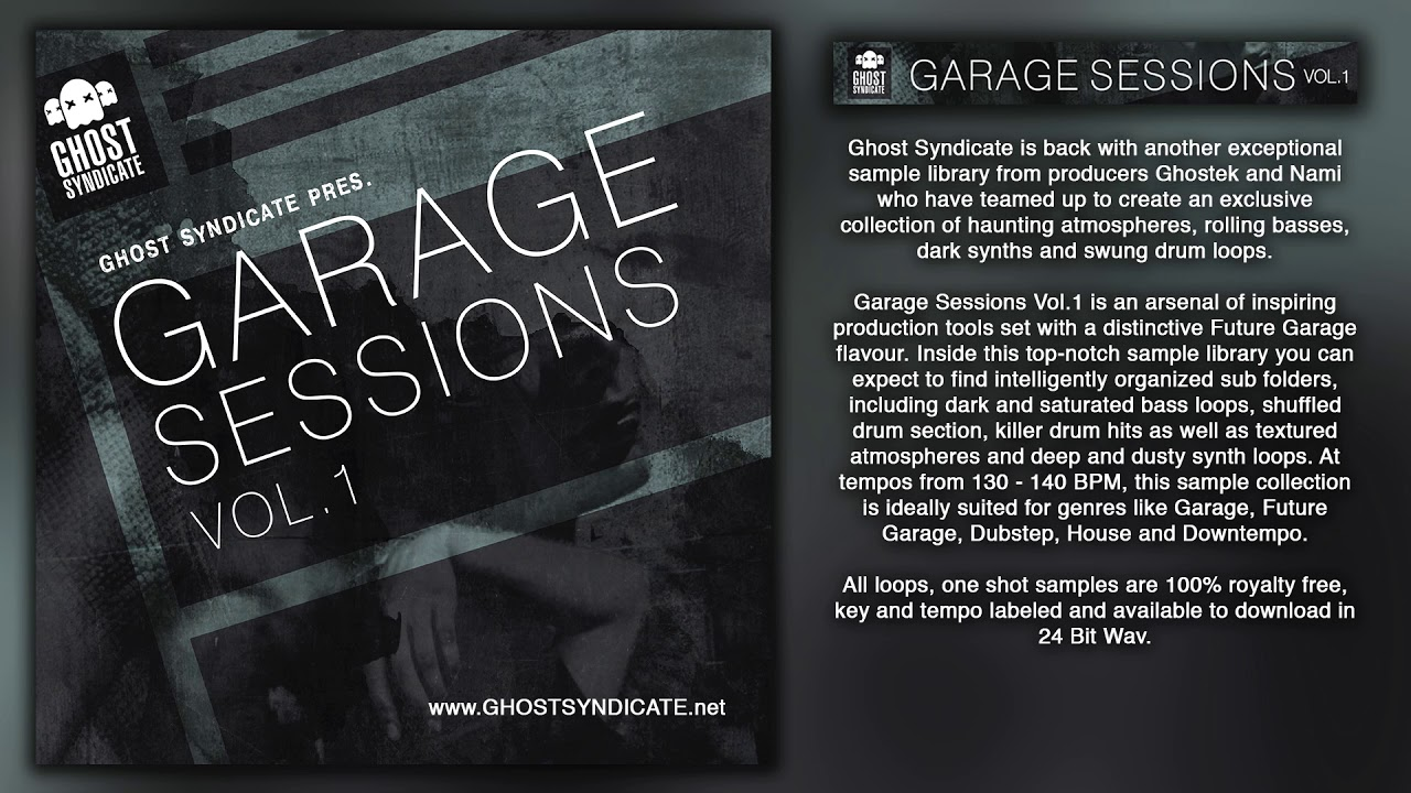Sample pack garage sessions vol 1 royalty free future for Future garage sample pack