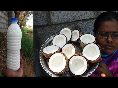 Making Instant Coconut Milk Without Mixie / Grinder / Electricity || Food Money Food