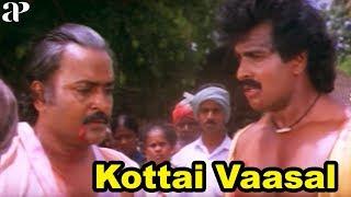 Kottai Vasal Climax Scene | Arun Pandian Reopens the Temple | Arun Pandian and Sukanya Unite