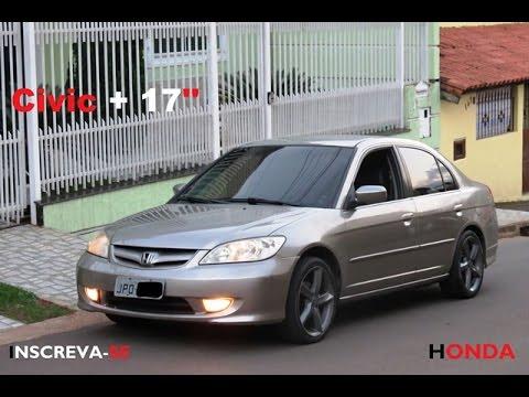 Civic Rodas 17 Projeto Youtube