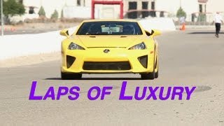 Lexus Heats Up Las Vegas with the LFA