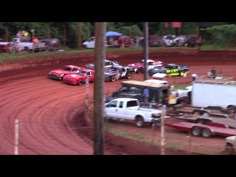 Winder Barrow Speedway Stock Eight Cylinders Feature Race 7/20/19
