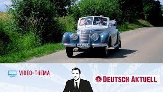 Familienausflug mit dem Oldtimer   Deutsch lernen mit Videos