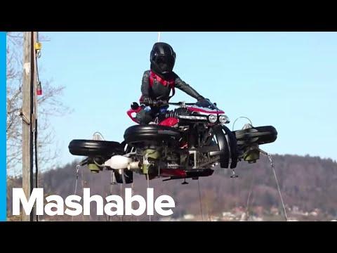 C-Rob Blog (58472) - Flying Motorcycle Coming Soon