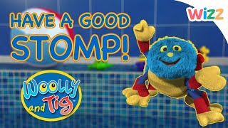 Woolly and Tig - Have A Good Stomp! | Full Episodes | Toy Spider | Wizz | TV Shows for Kids