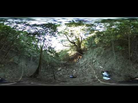 [KF] 高知県室戸市 世界ジオパーク 段ノ谷山 野根山街道 360度VR 11883 (2015/12:09 9:01)