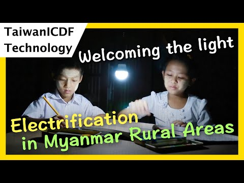 Welcoming the light--- Solar PV Mini-Grid System for Lighting in Myanmar Rural Areas