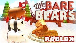 ROBLOX WE BARE BEARS (Showcase)