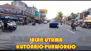 Jalan Utama Kutoarjo Purworejo, Kalianyar-Jembatan KaliJali-Batoh-Candisari-Lengkong Juni 2021
