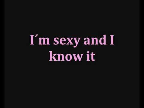 Lmfao Sexy And I Know It Lyrics Youtube