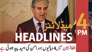 ARY News | Headlines | 4 PM | 21st September 2021