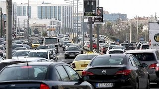 Афины: забастовкеа транспортников