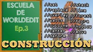 Escuela de WorldEdit 1.12 | Comandos de CONSTRUCCIÓN! [Ep.3]