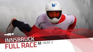 Innsbruck | BMW IBSF World Cup 2017/2018 - Men's Skeleton Heat 2 | IBSF Official