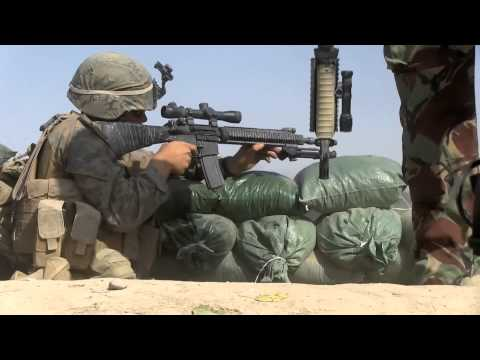"U.S. Marine Patrol ""greeted"" by Taliban fire in Sangin (Report)"