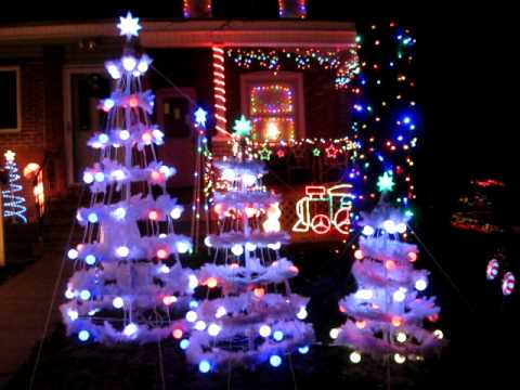 Gemmy Christmas Light Show Part One - Gemmy Christmas Light Show Part One - YouTube