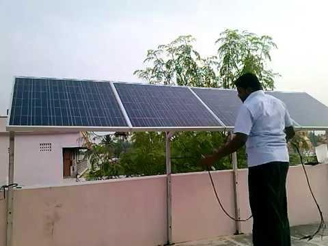 green power plant solar