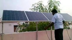 green power plant solar
