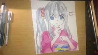 Speed Drawing - Izumi Sagiri ( Eromanga-sensei ) #PART 2