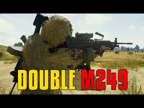 Double M249 - The Beast Is Back | PUBG
