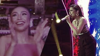 SHE WOWED THE MADLANG PEOPLE!! MORISSETTE AMON performed NEVER ENOUGH @ It's Showtime (Raw Video) thumbnail