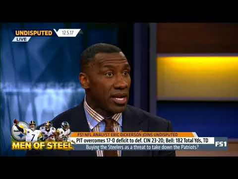 Eric Dickerson and Skip Bayless reacts to Steelers def Bengals