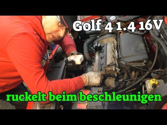 Motor setzt aus beim beschleunigen - Golf 4 1.4 16V