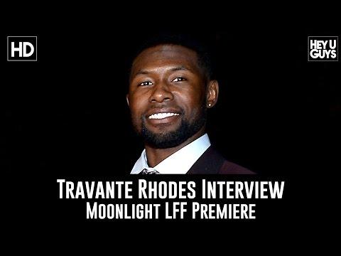 Trevante Rhodes LFF Premiere Interview - Moonlight