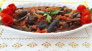 En Lezzetli Zeytinyağlı Patlıcan Yemeği TarifiPatlıcan YemekleriGurbetinmutfagi