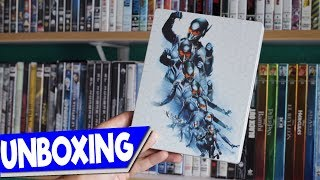 UNBOXING | Ant man and the Wasp (STEELBOOK) Blu-ray