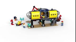 60265 LEGO City Base per esplorazioni oceaniche
