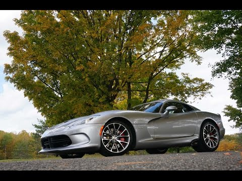 2014 Dodge Viper SRT GTS - TestDriveNow.com Review by Auto Critic Steve Hammes | TestDriveNow