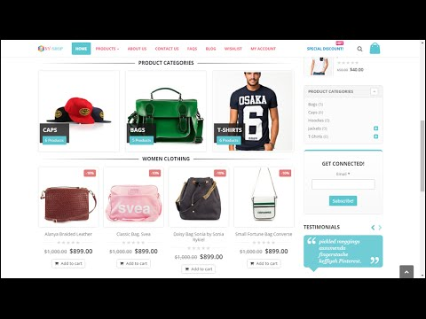 How to Create an eCommerce Website with Wordpress | Online store | like Amazon and Flipkart 2016