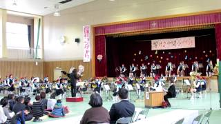 小学生が演奏する「マードックからの最後の手紙」