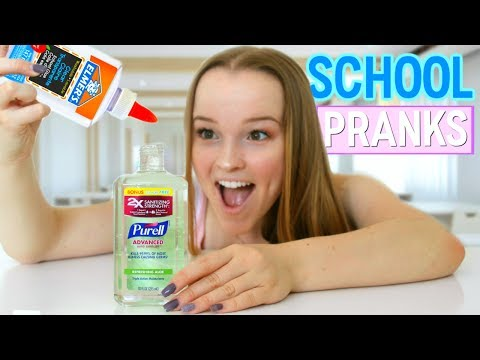 8 PRANKS FOR BACK TO SCHOOL!