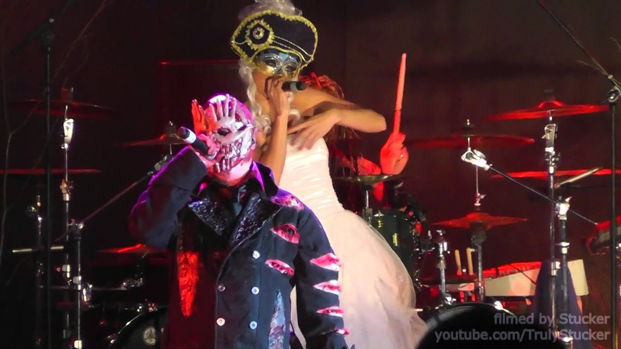 Diablo Hd Wallpaper Mushroomhead One More Day Moscow Russia 02 05 2014