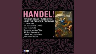 Suite in F Major, HWV 348, 'Water Music' : XI Hornpipe (Andante)
