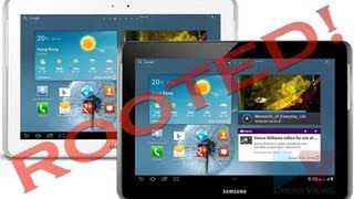 How To Root  A Samsung Galaxy Tab 2 10.1  P51xx