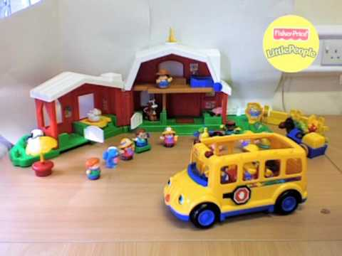 stop motion fisher price little people farm animation ...