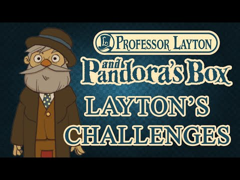 Layton's Challenges: The Puzzle Doctor's House — Professor Layton and Pandora's Box