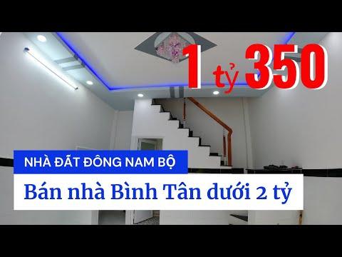 Chính chủ Bán nhà quận Bình Tân dưới 2 tỷ, hẻm 10m tiện kinh doanh buôn bán