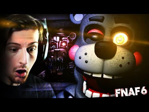 SOMETHING ISN'T RIGHT ABOUT THIS ANIMATRONIC.. || Five Nights At Freddy's 6 (Part 5)
